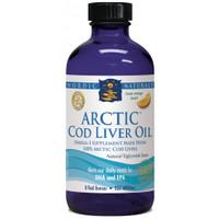 Nordic Naturals Liquid Cod Liver Oil Orange Flavour, 237 ml | NutriFarm.ca