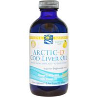 Nordic Naturals Liquid Cod Liver Oil with Vitamin D, 237 ml | NutriFarm.ca