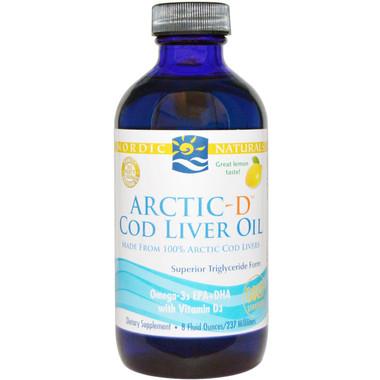 Nordic Naturals Liquid Cod Liver Oil with Vitamin D, 237 ml   NutriFarm.ca