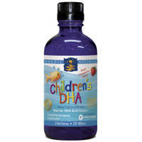 Nordic Naturals Liquid Children's DHA Strawberry Flavour, 237 ml | NutriFarm.ca