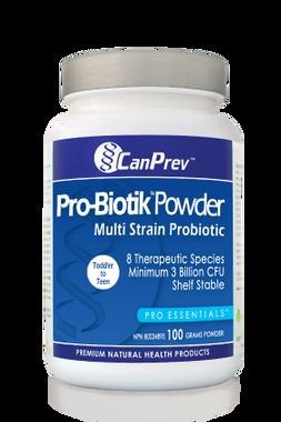 CanPrev Pro-Biotik Powder Multi Strain Probiotic, 100 g | NutriFarm.ca