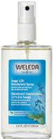Weleda Sage 12 hour Deodorant, 100 ml | NutriFarm.ca
