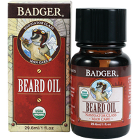 Badger Balms Beard Conditioning Oil, 29.6 ml | NutriFarm.ca