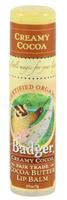 Badger Balms Cocoa Butter Lip Balm (Creamy Cocoa), 7 g   NutriFarm.ca