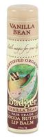 Badger Balms Cocoa Butter Lip Balm (Vanilla Bean), 7 g   NutriFarm.ca