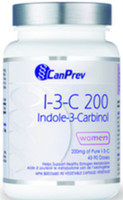 CanPrev I-3-C 200 Indole-3-Carbinol, 90 Vegetable Capsules | NutriFarm.ca