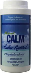 Natural Calm Magnesium Plain, 452 g (16 oz) | NutriFarm.ca