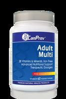 CanPrev Adult Multi, 60 Vegetable Capsules | NutriFarm.ca
