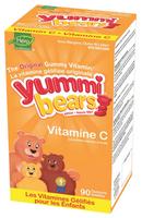 Hero Nutritionals Yummi Bears Vitamin C, 90 gummi bears | NutriFarm.ca