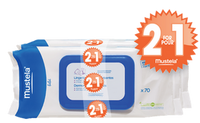 Mustela Dermo Soothing Wipes Scented, 70 Wipes (Buy 1 Get 1 FREE) | NutriFarm.ca
