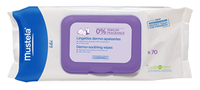 Mustela Dermo Soothing Wipes Unscented, 70 Wipes | NutriFarm.ca