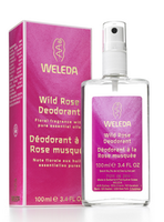 Weleda Wild Rose Deodorant, 100 ml | NutriFarm.ca