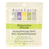 Aura Cacia Aromatherapy Bath Relaxation Tangy Citrus, 71 g | NutriFarm.ca