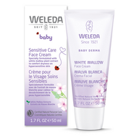 Weleda White Mallow Face Cream (Sensitive Care), 50 ml