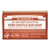 Dr. Bronner's Eucalyptus Pure Castile Bar Soap, 140 g   NutriFarm.ca