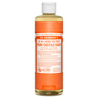 Dr. Bronner's Organic Tea Tree Oil Pure Castile Liquid Soap, 472 ml | NutriFarm.ca