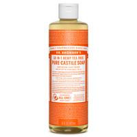 Dr. Bronner's Organic Tea Tree Oil Pure Castile Liquid Soap, 472 ml | NutriFarm.ca