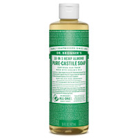 Dr. Bronner's Organic Almond Oil Pure Castile Liquid Soap, 472 ml | NutriFarm.ca