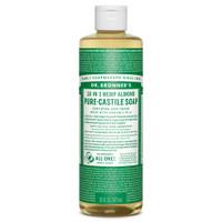 Dr. Bronner's Organic Almond Oil Pure Castile Liquid Soap, 472 ml | NutriFarm.ca