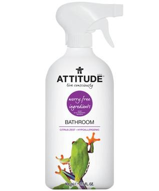 Attitude Bathroom Cleaner Citrus Zest, 800 ml | NutriFarm.ca