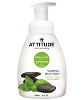 Attitude Foaming Hand Soap Apple and Basil, 295 ml | NutriFarm.ca