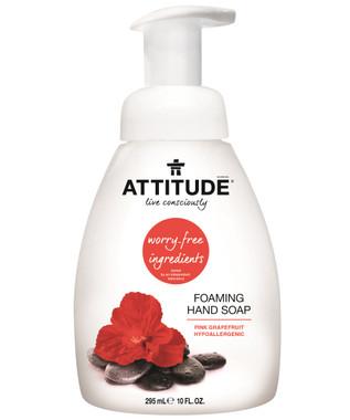 Attitude Foaming Hand Soap Pink Grapefruit, 295 ml | NutriFarm.ca