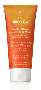 Weleda Sea Buckthorn Creamy Body Wash, 200 ml | NutriFarm.ca