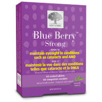 New Nordic Blue Berry Strong, 60 Tablets | NutriFarm.ca