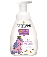 Attitude Little Ones 3-in-1 Foaming Wash Wild Berries, 300 ml | NutriFarm.ca