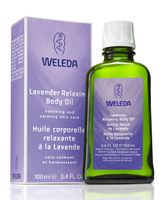 Weleda Lavender Body Oil, 100 ml | NutriFarm.ca