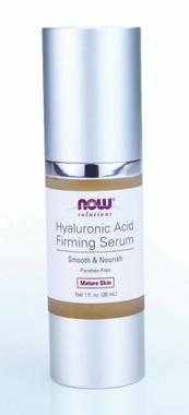 NOW Hyaluronic Acid Firming Serum, 30 ml   NutriFarm.ca