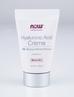 NOW Hyaluronic Acid Cream, 59 ml | NutriFarm.ca