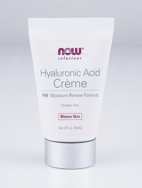 NOW Hyaluronic Acid Cream, 59 ml | NutriFarm.ca