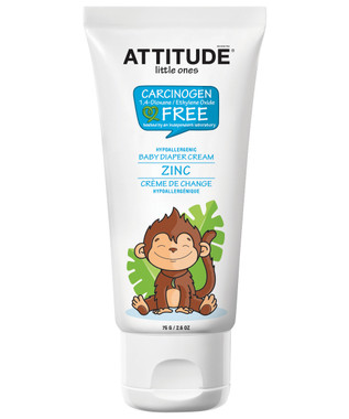 Attitude Little Ones Diaper Rash Zinc Cream, 75 g | NutriFarm.ca
