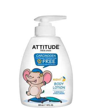 Attitude Little Ones Night Body Lotion Almond Milk, 300 ml   NutriFarm.ca