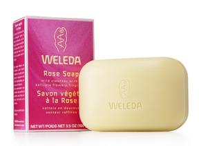 Weleda Rose Soap, 100 g | NutriFarm.ca