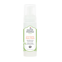 Earth Mama Sweet Orange Baby Wash, 160 ml | NutriFarm.ca