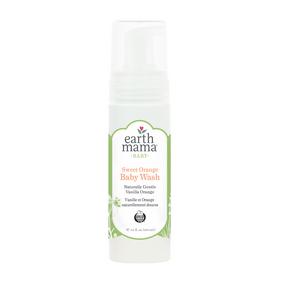 Earth Mama Sweet Orange Baby Wash, 160 ml | NutriFarm.ca
