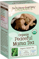 Earth Mama Peaceful Mama Tea, 16 bags | NutriFarm.ca