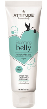 Attitude Blooming Belly Natural Bubble Bath Argan, 240 ml | NutriFarm.ca