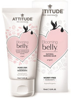 Attitude Blooming Belly Natural Nursing Balm Argan, 75 g | NutriFarm.ca