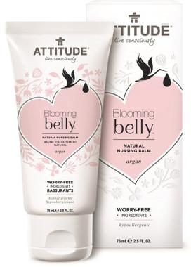 Attitude Blooming Belly Natural Nursing Balm Argan, 75 g   NutriFarm.ca