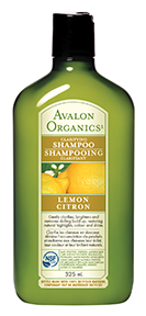 Avalon Organics Clarifying Lemon Shampoo, 325 ml | NutriFarm.ca