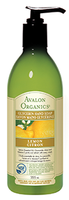 Avalon Organics Lemon Hand Soap, 355 ml | NutriFarm.ca