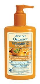 Avalon Organics Refreshing Facial Cleanser, 250 ml | NutriFarm.ca