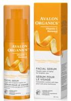 Avalon Organics Vitality Facial Serum, 30 ml | NutriFarm.ca