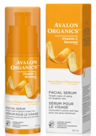 Avalon Organics Vitality Facial Serum, 30 ml | NutriFarm.ca