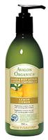 Avalon Organics Lemon Hand & Body Lotion, 355 ml   NutriFarm.ca