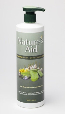 Nature's Aid  Skin Gel, 500 ml | NutriFarm.ca