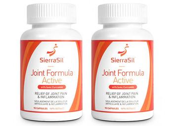 SierraSil Joint Formula Active, 2 x 90 Capsules | NutriFarm.ca